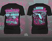 Stingray All Stars Cheerleading Shirt