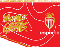 AS MONACO eSports : Branding 2019/2020