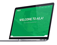 AILA-simple free PSD web template