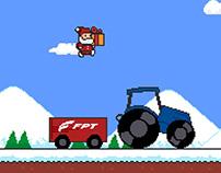8-bit Santa's Mission