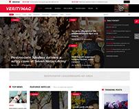 SJ VerityMag - Qualified Free Joomla Template