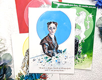 Gouache Art Prints / GOT Updated Drawings