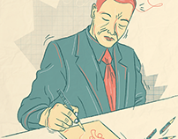Editorial Illustration - 2013