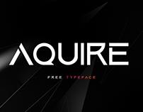 Aquire Font [ FREE TYPEFACE ]