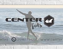 Arte logo + Arte Capa Facebook Center Fins.