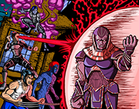 X-Men: Apocalypse Jim lee 90's cover Homage