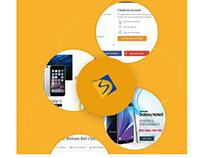 Fashion e-commerce website design