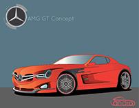 AMG GT Concept Design
