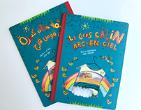 "Art direction, design: ""Gros Câlin"" picture book (2010)"