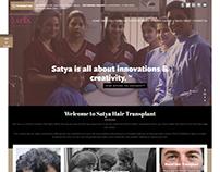 Web Design & Development for Hair Transplant India