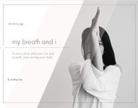 My Breath and I eBook Illustrations