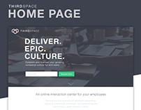 ThirdSpace - Landing page