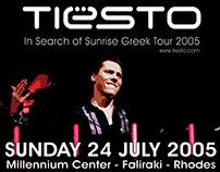 Tiesto @ Rhodes - Greece // Event designs & artworks