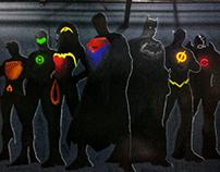 Justice League Mural