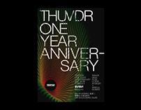 THUVDR poster
