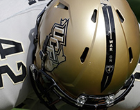 "UCF ""War on I-4"" Helmet Design"
