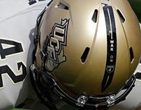 """UCF """"War on I-4"""" Helmet Design"""
