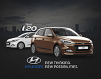 New Hyundai i20 Website