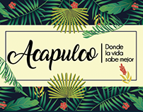 PROYECTO ESCOLAR Campaña Turística - Acapulco