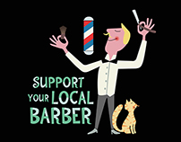 Support your local barber