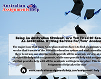 In Sydney there are some assignment writing service