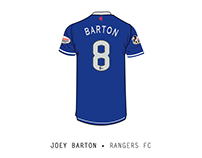 Joey Barton • Rangers FC