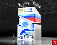 "Exhibition stand for ""ROSAVTOTRANS"""