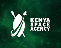 Kenya Space Agency Logo design Preposition