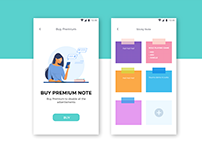 Note App UI Shot