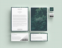 J U N I P E R  Letterhead + With Comps