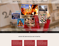 adventbecsben.hu webdesign concept