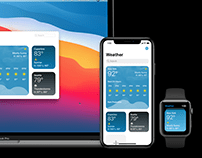 Universal Apple Weather Concept