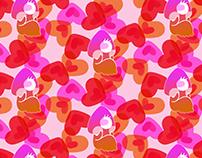 Camouflaged Valentine