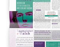 doble página de diario