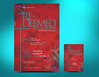 Redeemed Easter Flyer Poster Template