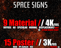 Space Signs Kit