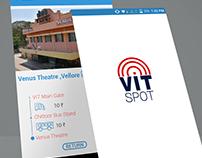 VITSPOT : UI Design