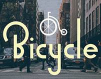 Bicycle - Typography
