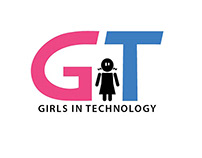 Girls in Technology logo design