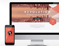 Revolution Intensive Website