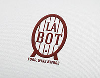 La Bot, food wine and more - branding