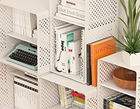 CAKTO storage furniture