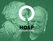 HOSP: caring the carer App design