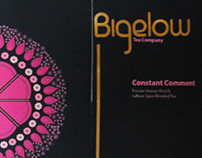 Bigelow Tea (package design)