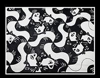 Geometric prints Tesselation
