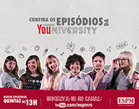 Canal Youtube: ESPM-Sul / Identidade Visual