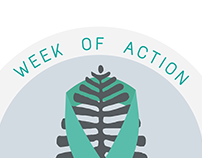 SAAM: Week of Action Logo/Stickers