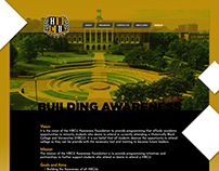 HBCU Awareness Foundation Website Design