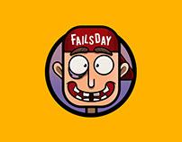 Логотип для инстаграм паблика Fails_day