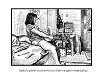 Line Drawing Storyboard